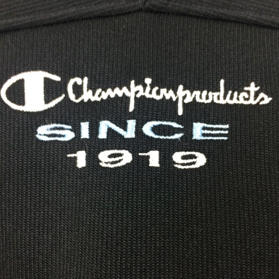 RARE!!! Champion Products Multicolour Embroide Fu… - image 5
