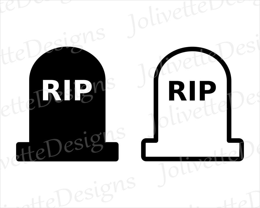 tombstone headstone gravestone rip grave clip art etsy rh etsy com headstone clip art sunflowers headstone clip art for couple