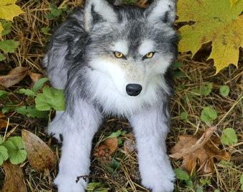 Wolf Plush Etsy