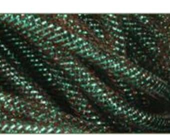 10 yards, turquoise flex tubing, flex tubing, deco flex tubing, deco mesh, wreaths, wreath supplies, mesh tubing, blue flex tubing