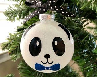 Panda ornament | Etsy