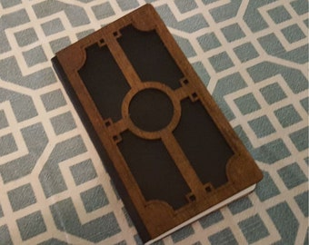 Decorative Wooden Cover Journal