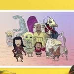 The Dark Crystal | Age of Resistance Print - The Dark Crystal Prints A4 - Dark Crystal Wall Art - The Dark Crystal Illustration Wall Print