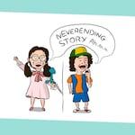Stranger Things Dustin Card - Stranger Things NeverEnding Card - Stranger things Birthday Card - Dustin & Suzie Card - stranger things 3