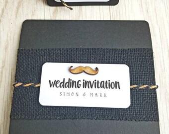 the tartan range custom folding wedding invitations etsy