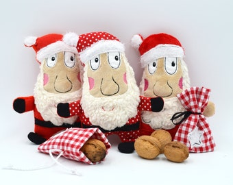 Embroidery file ITH Santa Claus with bags for the 13x18 frame of the embroidery machine -Download