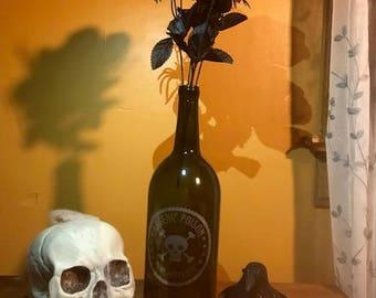 """Halloween decor Poison """"Arsenic"""" bottle"""