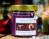 Glühwein, Mulled Wine, Mead, bookish candle, candle, Gewürz Kerze, Duftkerze, soywax candle, cinnamon, spices, christmas, weihnachten, xmas