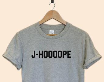 J-hoooope BTS kpop tumblr T-shirt tee unisex gift