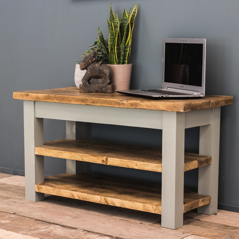 timeless design b8577 5759a Handmade Rustic TV Unit - TV stand - Media Unit - reclaimed timber -  bespoke sizes