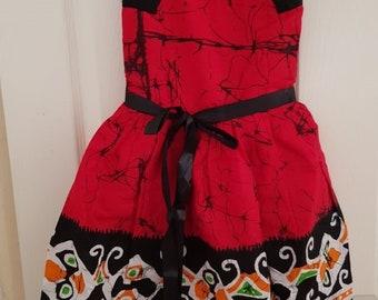 Ankara Dress, African Clothing,African Girl dress, Ankara Dresses,African Print Dress, African Fashion