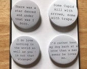 Much Ado About Nothing - Shakespeare Badges