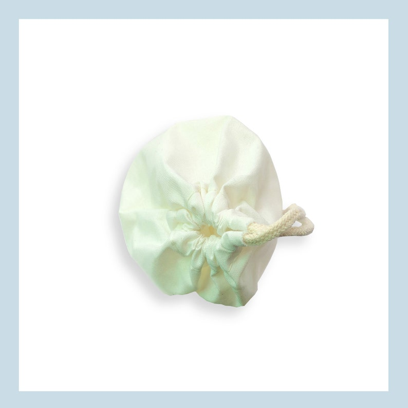 Biodegradable and Reusable Premium Quality Muslin Drawstring Bags SAMPLE Perfect for Packaging 8 X 10 Cotton