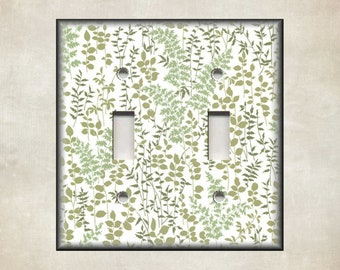 Nature Lover Doodle Trees Themed Light Switch Cover Choose Your Cover Wall Plate