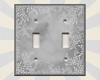 Switch Plates And Outlet Covers Decorative Tile Design Mint Green Global Home Decor Metal Light Switch Covers Luna Gallery Designs