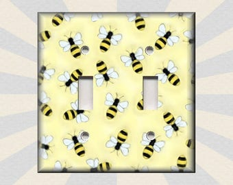 Bee Switch Plate Etsy