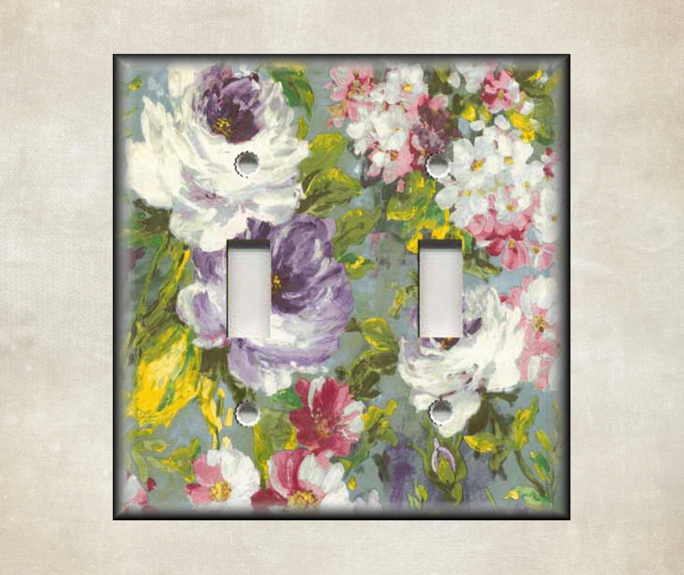 Decorative Switch Plate Covers And Outlet Covers Botanical Art Decor Luna Gallery Designs Free Shipping Metal Light Switch Cover
