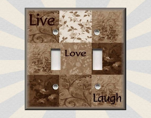 Light Switch Covers Home Decor Outlet Live Laugh Love 1