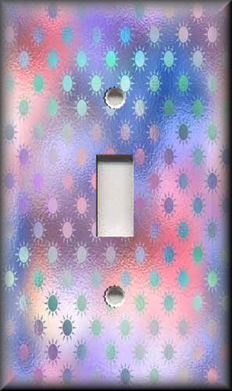 Metal Light Switch Cover Free Shipping Luna Gallery Girls Room Unicorn Decor Sun Design Switch Plate Covers And Outlet Covers