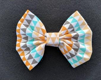 Multicolor Hair Bow