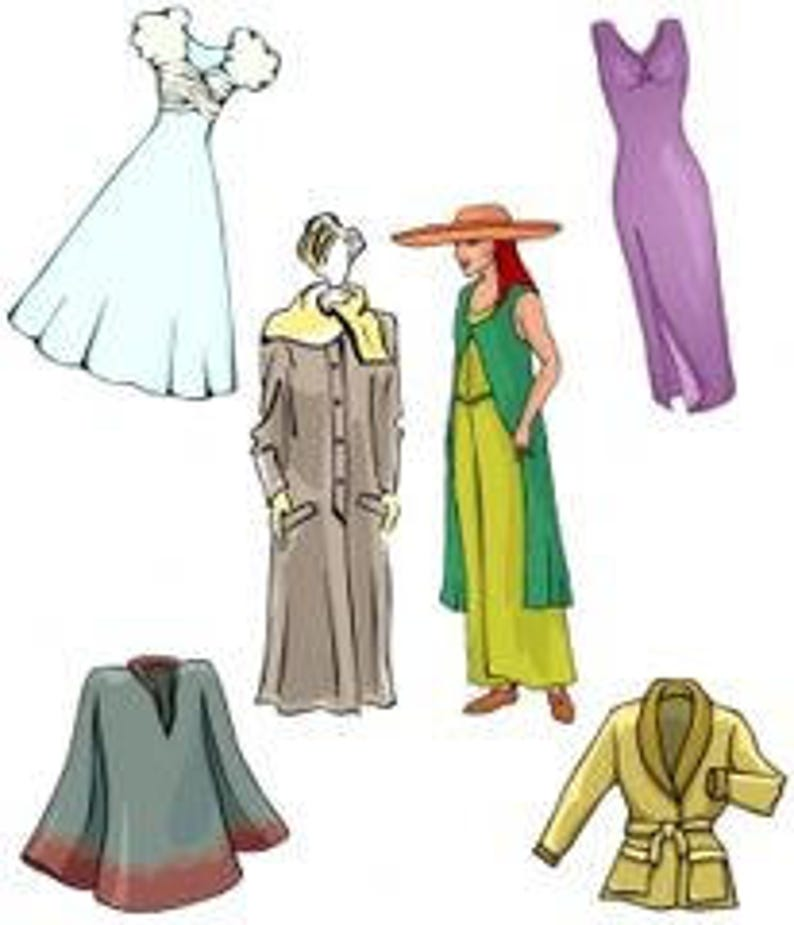 How To Make Misses Specialty Clothing Items Patterns - PDF downloadable  pattern making class