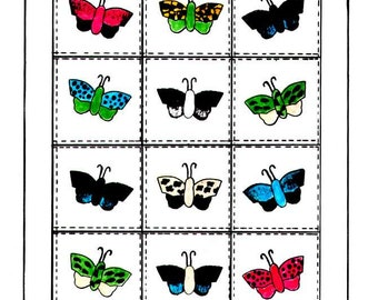 Beautiful Butterfly Quilt Pattern, Butterfly Applique Quilt Pattern, PDF Downloadable Quilt Pattern,  Butterfly Quilt
