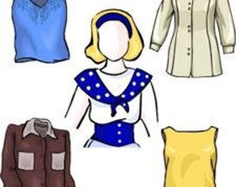 How To Make Your Own Custom Fit Full Figure And Plus Size Blouse Patterns - PDF downloadable pattern making class