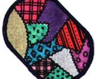 Quilted Place Mats, Quilted Kitchen Place Mats, PDF downloadable pattern,  PDF Pattern Instructions,