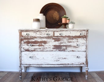 Distressed Furniture Etsy
