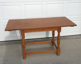 available for customization farmhouse kitchen table small kitchen table custom furniture dining table breakfast table painted table - Small Kitchen Tables With Bench