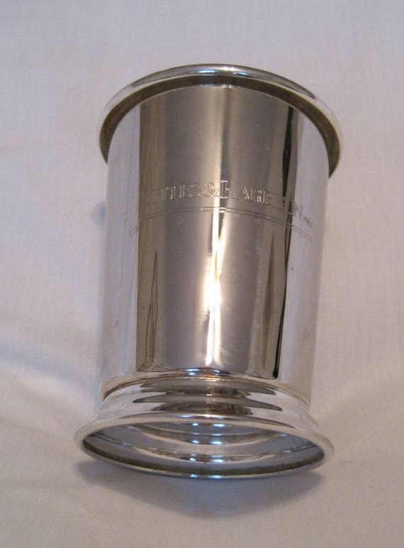 SALE *** Beautiful American Silverplate Mint Julep Cup/Derby Cup