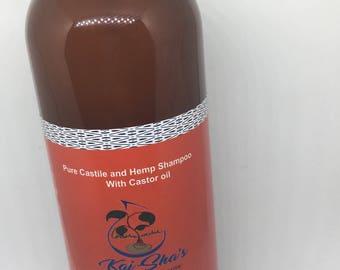 Pure Castile-hempseed -and coconut Shampoo