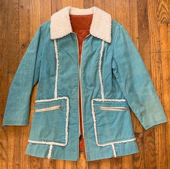 Womens vintage coat