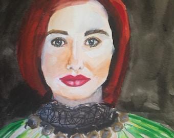 Original Tori Amos Painting