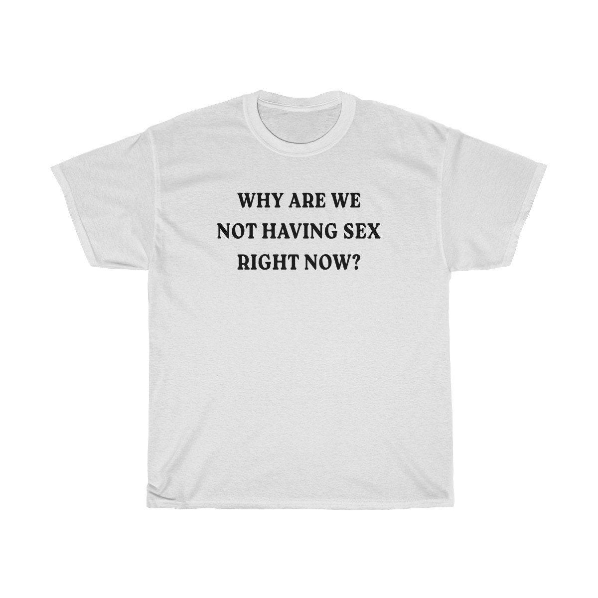 Warum haben wir jetzt keinen Sex Übergroße T-shirt | Etsy