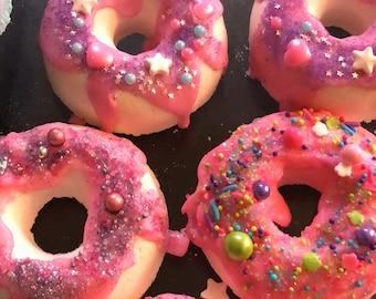 Glazed Donut Bath Bombs