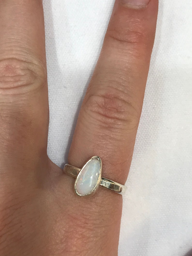Coober Pedy Opal Ring S452 SIZE Q