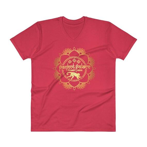 24eca0f858a3 Pankot Palace V-Neck T-ShirtFathers Day Gift Idea
