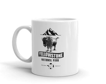 VintageYellowStone National Park Gift Mug