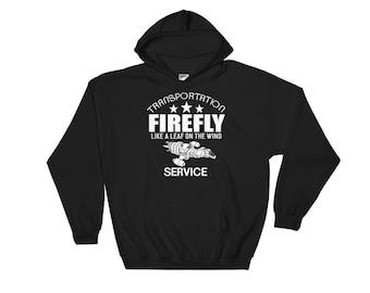 Firefly Serenity like a leaf on the wind Hooded Sweatshirt