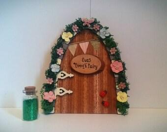 Personalised tooth fairy door