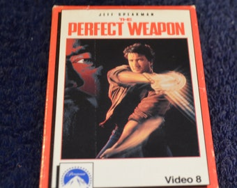 Video 8, The Perfect Weapon, Staring Jeff Speakman, 8 mm movie