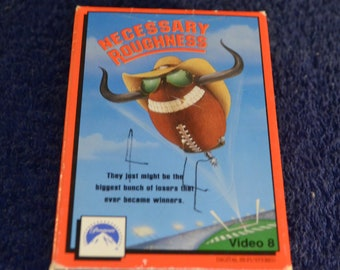 Video 8, Necessary Roughness, 8 mm Movie Tape
