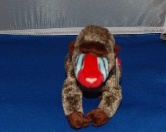 96130433840 Ty Beanie Babies Cheeks the Baboon 1999