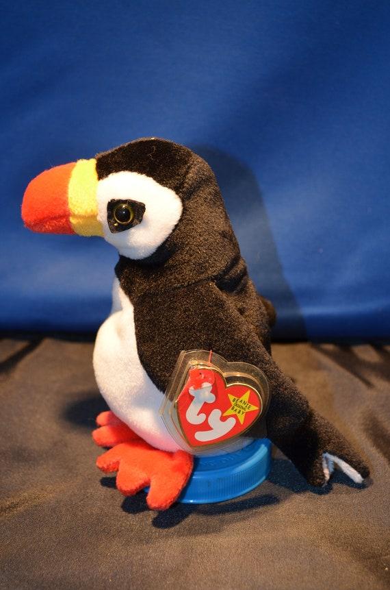 Ty Beanie Babies Puffer the Puffin Bird 1997  6e4cc1a35165