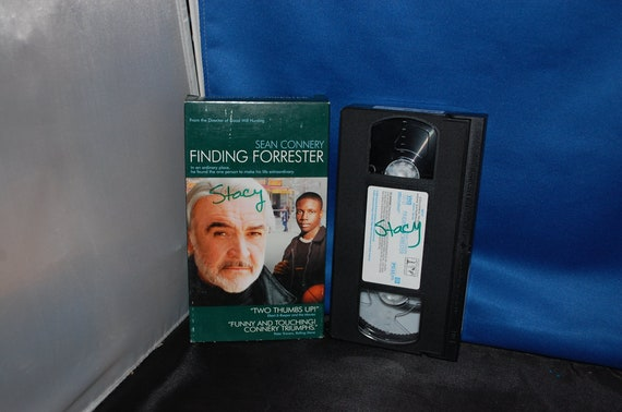 Finding Forrester On Vhs Staring Sean Connery Free Shipping Etsy