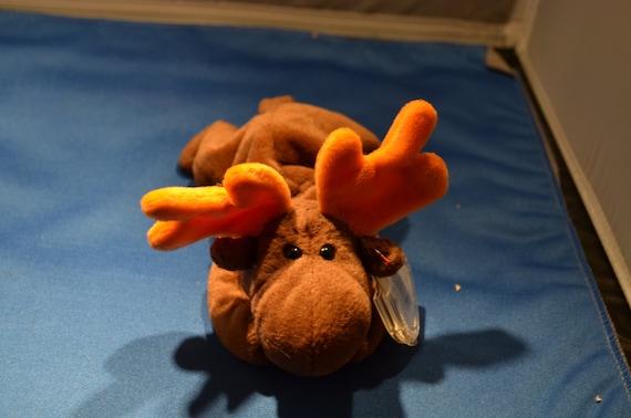 23d684f5d9b Ty Original Beanie Baby Chocolate The Moose