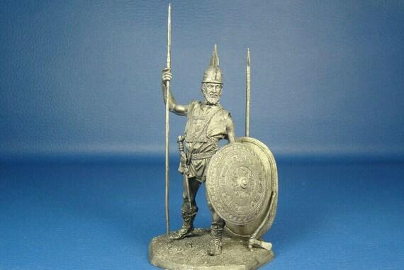 HISTORICAL TIN FIGURES ROME ITALICUS ETRUSCAN WARRIOR 768-264 BC 1//32 AR11