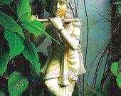 Krishna, Spiritual Yoga and Buddhist Postcard, made with love