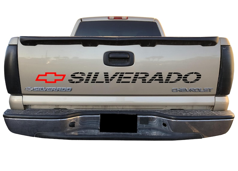 54184831c6 CHEVY SILVERADO Bed Decal Chevrolet SS Truck Tailgate Sticker